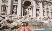 Sự thật về số tiền xu ném xuống các đài phun nước nổi tiếng