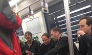 Khách Tây bị chỉ trích vì ăn uống trên tàu điện ngầm