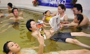 Những kiểu tắm độc đáo chỉ có tại Nhật Bản