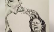 Bức họa mẹ mắng con thức tỉnh những người làm cha mẹ