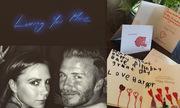 Victoria Beckham hạnh phúc vì lời chúc sinh nhật từ chồng con
