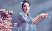 Dương Mịch chụp ảnh với tạo hình tiên nữ
