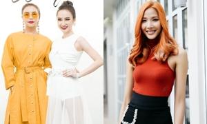Dàn sao đọ phong cách tại show của Angela Phương Trinh