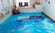 Làm mới không gian sống với gạch 3D trong nhà