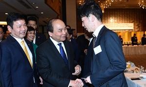 Thủ tướng đề nghị Nhật hỗ trợ Việt Nam trong Cách mạng 4.0