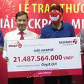 Khách hàng Hà Nội nhận giải độc đắc hơn 21 tỷ đồng