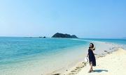 Bốn nàng độc thân khám phá con đường giữa biển ở Khánh Hòa