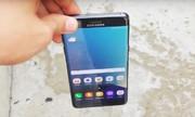 Galaxy Note 7 so độ bền S7 edge khi thả rơi