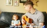 Video bé 4 tuổi hát cùng cha hot nhất trên Internet tuần qua