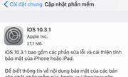 Apple ra iOS 10.3.1 vá lỗ hổng bảo mật Wi-Fi