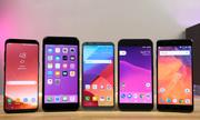 10 smartphone bán chạy nhất tháng 4/2017
