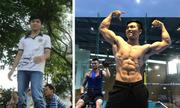 Chàng trai bệnh tim tập thể hình để body 6 múi
