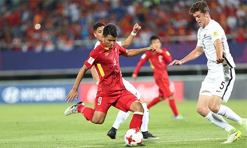 World Cup U20: Việt Nam 0-0 New Zealand (hiệp một)