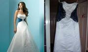 Thảm họa thời trang khi mua váy cưới qua mạng