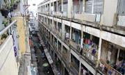 Chung cư 50 tuổi sắp sập ở trung tâm Sài Gòn được tháo dỡ