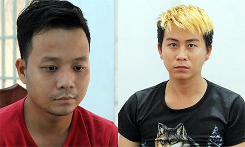 Hai kẻ chuyên chuốc thuốc mê bạn đồng tính, cướp tài sản. Ảnh: Hồng Tuyết