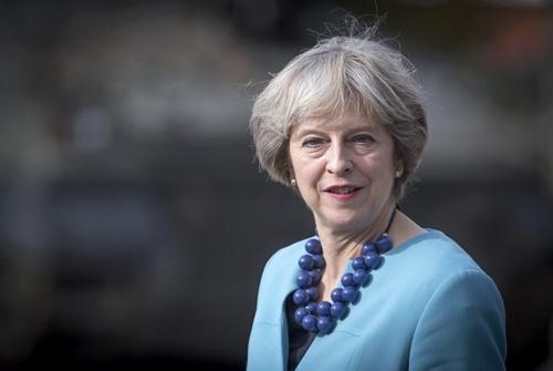 Thủ tướng Anh Theresa May. Ảnh: Reuters.
