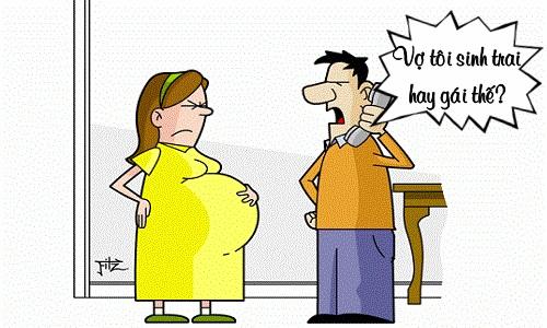Ông chồng mừng hụt vì tưởng vợ mang bầu