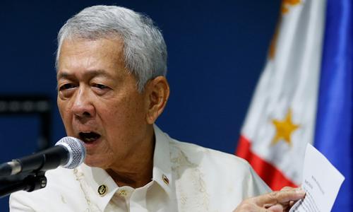 Ngoại trưởng Philippines Perfecto Yasay