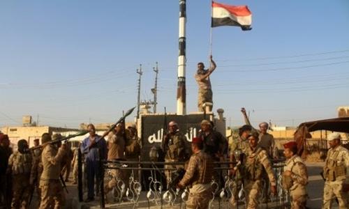Quân đội Iraq chuẩn bị giải phóng thành phố Mosul từ tay IS. Ảnh: AFP.