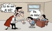 Thầy giáo choáng váng trước lý do học trò đi muộn