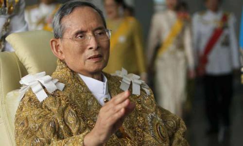Quốc vương Thái Lan Bhumibol Adulyadej. Ảnh: AFP.