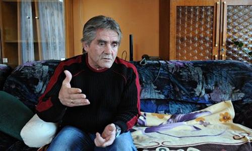 László Andraschek, a homeless Hungarian man became a lottery millionaire. Photograph: H Baranyai Edina/BorsOnline
