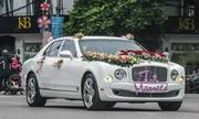 Bentley Mulsanne chục tỷ dẫn đoàn đám hỏi tại Hải Phòng