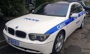 Xe sang BMW 745 của CSGT gây xôn xao