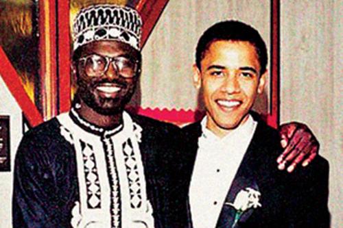 Tổng thống BarackObama và anh traiMalik Obama