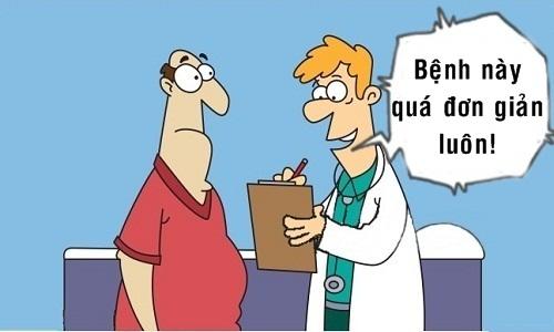 Bệnh nhân chết lặng trước lời khuyên của bác sĩ