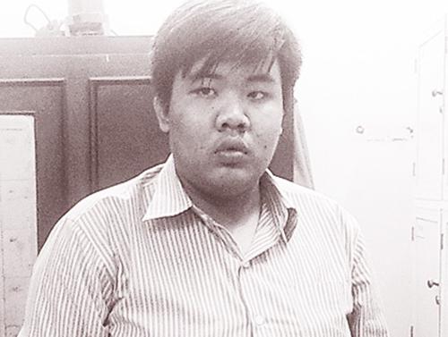 Đối tượng Trần Phan Hoàng Thái.