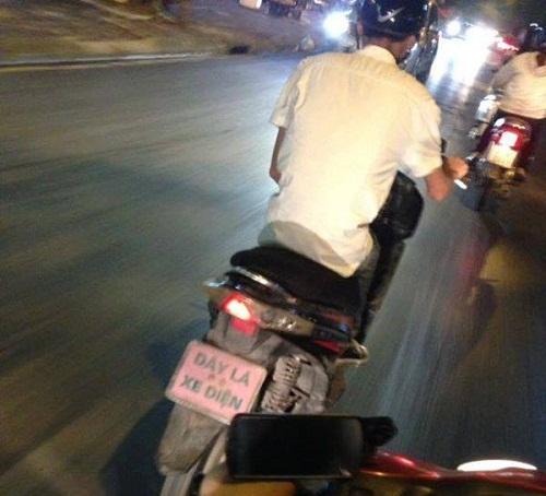 Bảng số xe chất nhất Việt Nam.