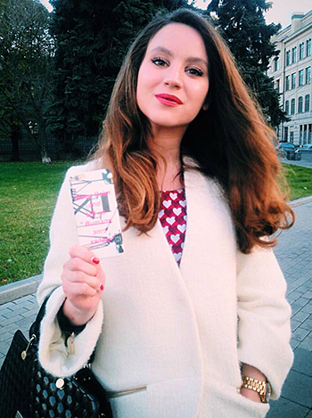 Marina Lebedeva.Ảnh:East2West News
