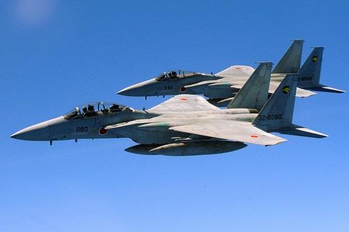 Chiến đấu cơ F-15 của Nhật. Ảnh: Wikipedia