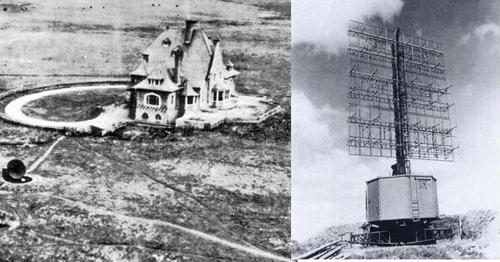 Vị trí đặt trạm radar Đức ở làng Bruneval, Pháp. Ảnh: War History.