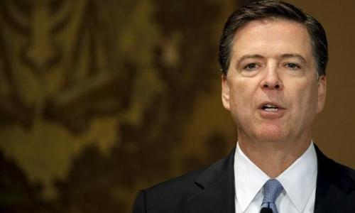 Giám đốc Cục Điều tra Liên bang Mỹ James Comey. Ảnh: Reuters.