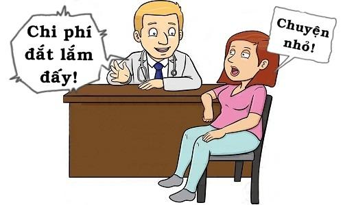 Bác sĩ choáng váng trước biểu hiện của vợ bệnh nhân