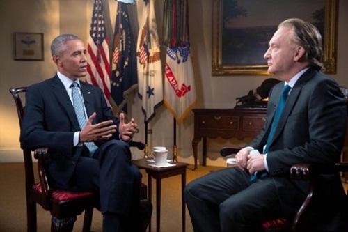 Tổng thống Mỹ Obama trả lời phỏng vấn trong chương trình