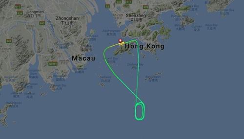 Đường bay của TR2067. Ảnh: Flight Radar 24.