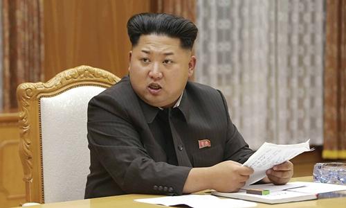 Nhà lãnh đạo Triều Tiên Kim Jong-un. Ảnh: KCNA.