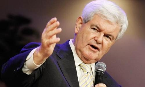 Newt Gingrich có thể là Ngoại trưởng Mỹ. Ảnh: Telegraph.