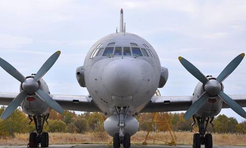 Máy bay tác đối kháng điện tử Ilyushin-22PP của Nga. Ảnh: Wingsjournal.