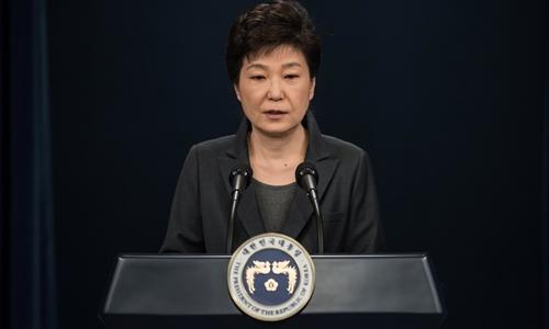 Tổng thống Hàn Quôc Park Geun-hye. Ảnh: Reuters.