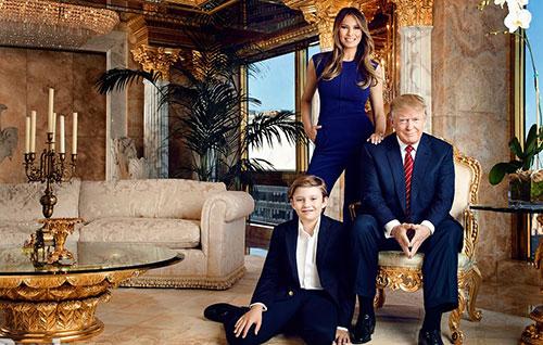 [Ông Trump từng bày tỏ niềm tự hào về căn hộ xa xỉ của mình