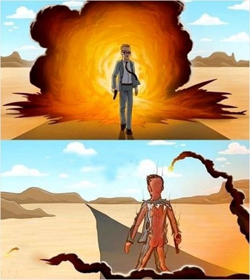 Phía trước anh hùng, phía sau... tiêu tùng.