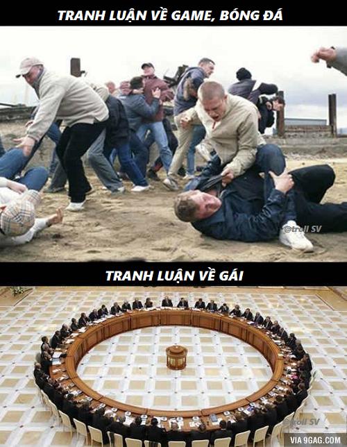 Lý do duy nhất khiến đàn ông đoàn kết.