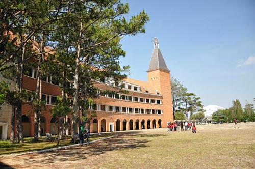 Trường Cao đẳng Sư phạm Đà Lạt. Ảnh: Khánh Hương