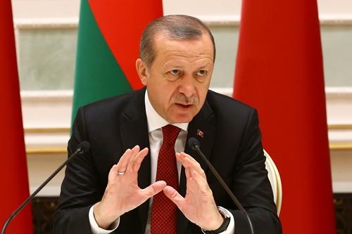 Tổng thống Thổ Nhĩ Kỳ Tayyip Erdogan. Ảnh: Reuters.