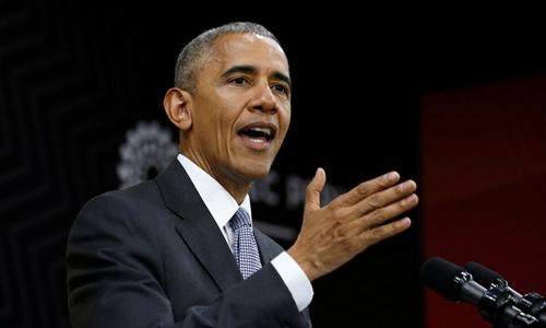 Tổng thống Mỹ Barack Obama ngày 20/11 có bài phát biểu tại Diễn đàn Hợp tác Kinh tế châu Á - Thái Bình Dương (APEC) ở thủ đô Lima, Peru,